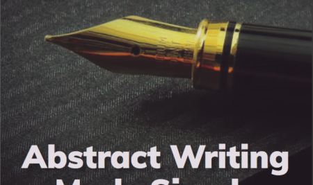 Abstract Writing Made Simple E-Book