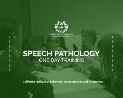 One Day Speech Pathology Training Program