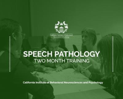 Two Month Speech Pathology Training Program