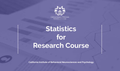 Tier 1 – Statistics for Research Course