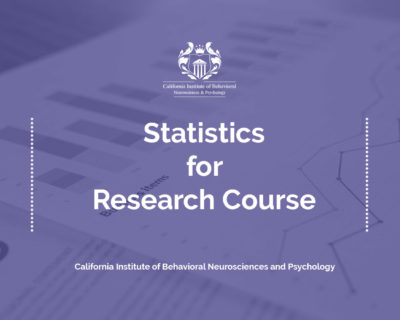 Tier 3 – Statistics for Research Course